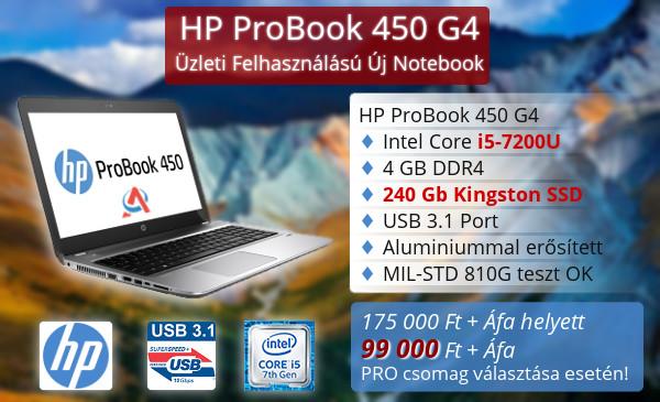 HP Pro Book 450 G4